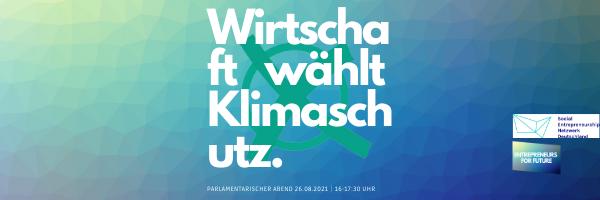 Newsletter Header & Banner E4F_Parlament.Abend-Ankündigung